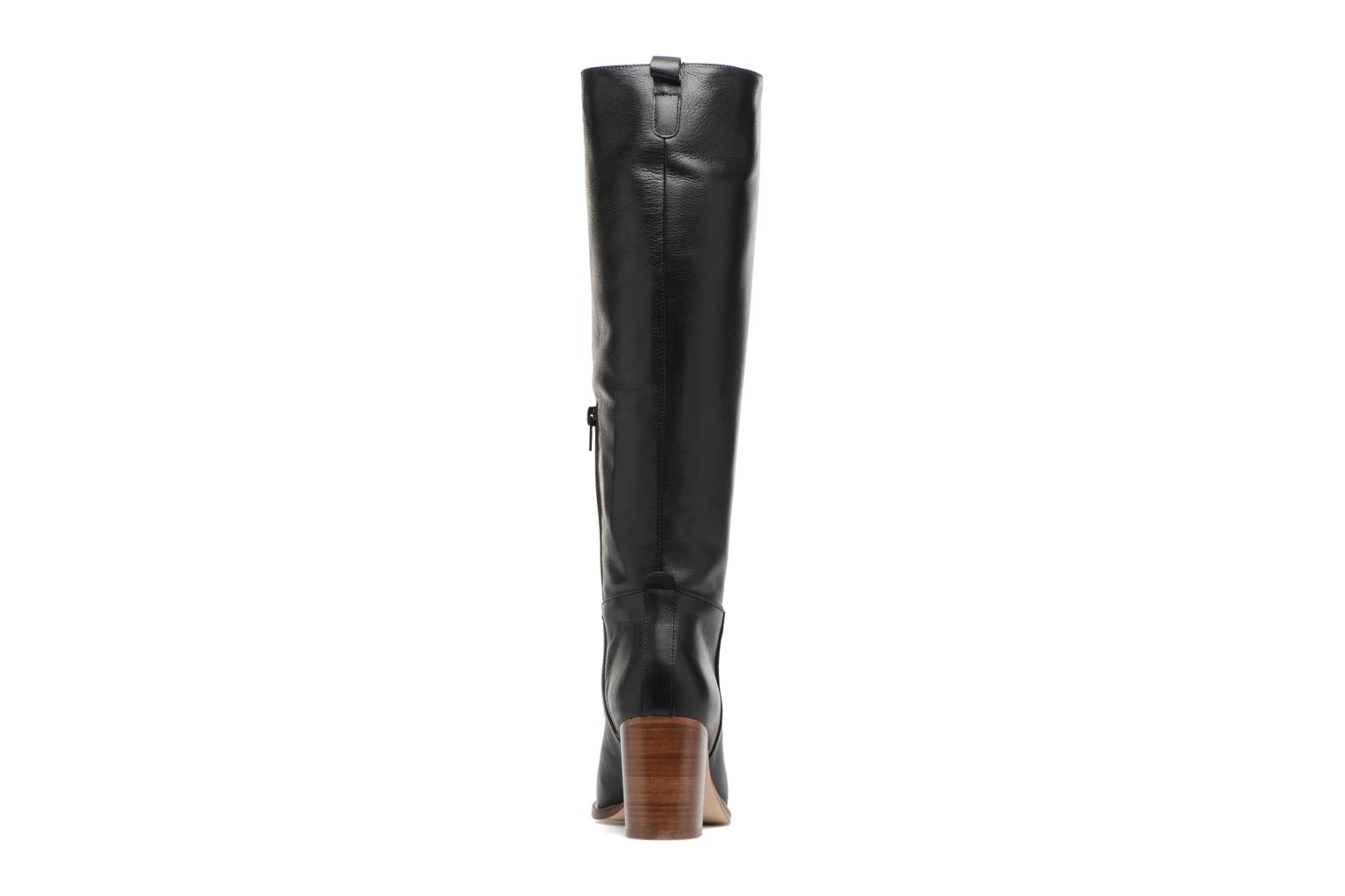 Boots & wellies Anaki Jordan Black view from the right