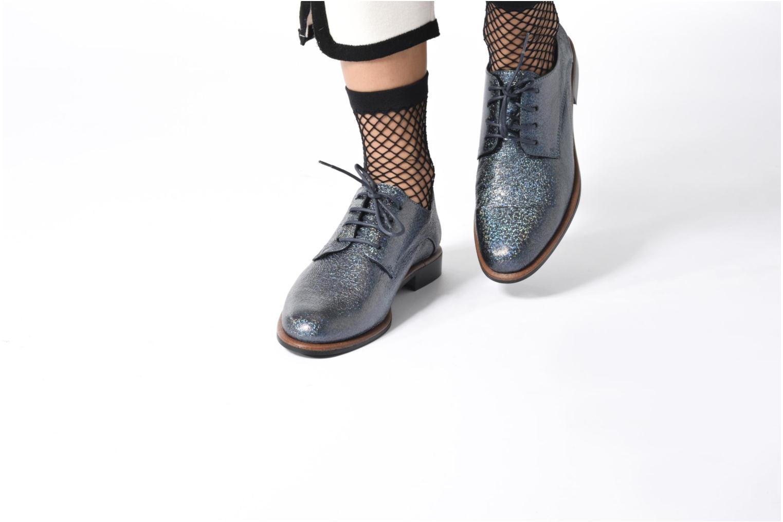 Chaussures à lacets Anaki Jenna Bleu vue bas / vue portée sac