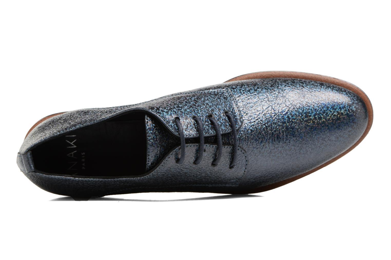 Chaussures à lacets Anaki Jenna Bleu vue gauche