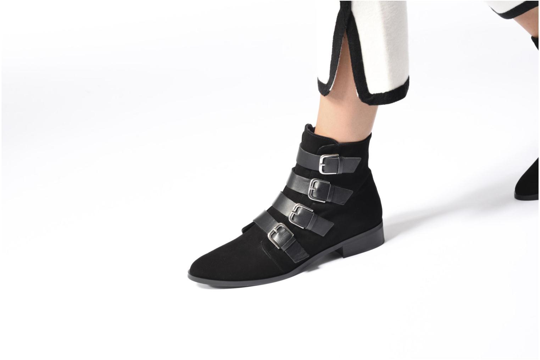 Bottines et boots Anaki Adisson Noir vue bas / vue portée sac