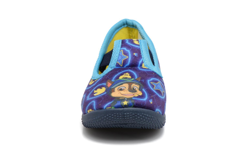 Chaussons Pat Patrouille Soudan Bleu vue portées chaussures