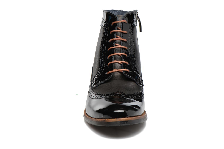Bottines et boots Georgia Rose Navola Noir vue portées chaussures