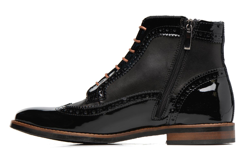 Bottines et boots Georgia Rose Navola Noir vue face
