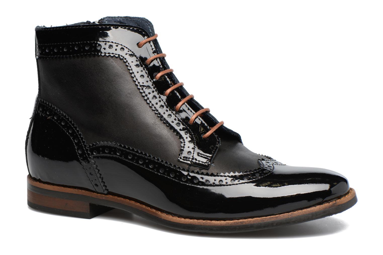 Bottines et boots Georgia Rose Navola Noir vue détail/paire