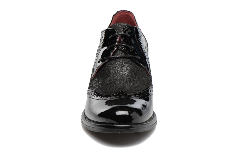 Chaussures à lacets Georgia Rose Nepri Noir vue portées chaussures