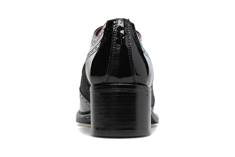 Chaussures à lacets Georgia Rose Nepri Noir vue droite