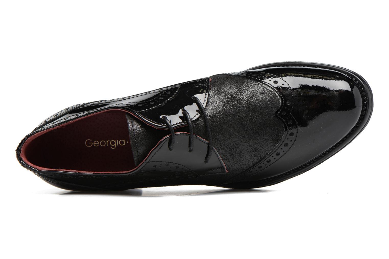 Chaussures à lacets Georgia Rose Nepri Noir vue gauche