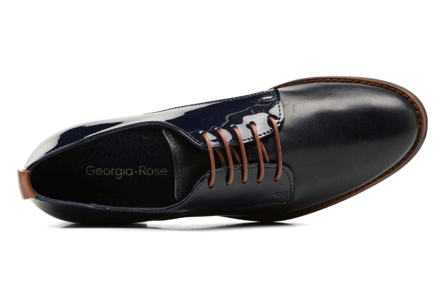 Lace-up shoes Georgia Rose Neverni Blue view from the left