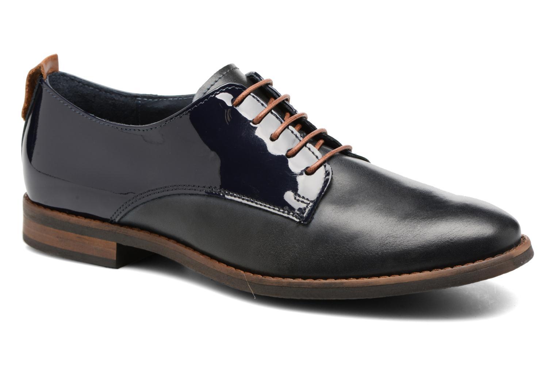 Chaussures à lacets Georgia Rose Neverni Bleu vue détail/paire