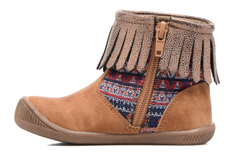 Bottines et boots NA! Aria Marron vue face