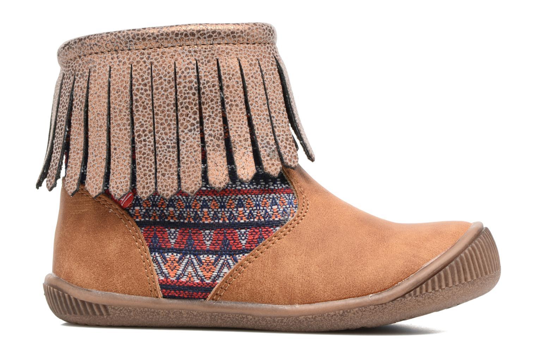 Bottines et boots NA! Aria Marron vue derrière