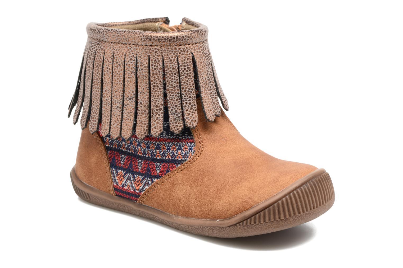 Bottines et boots NA! Aria Marron vue détail/paire