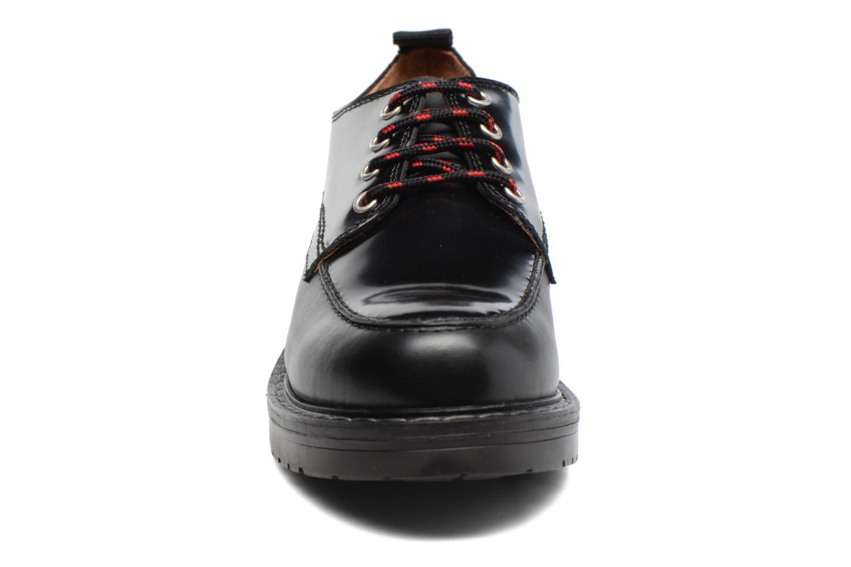 Schnürschuhe Gioseppo Tura schwarz schuhe getragen