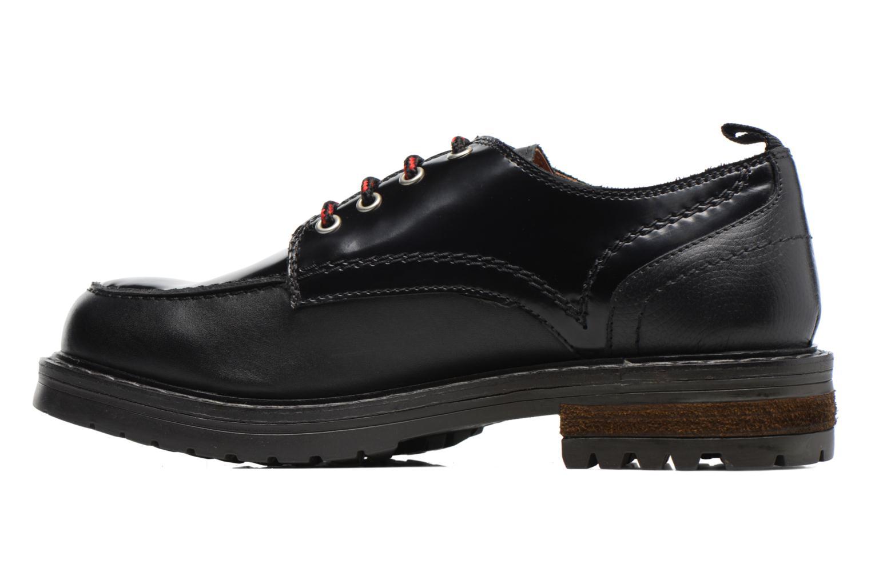 Zapatos con cordones Gioseppo Tura Negro vista de frente