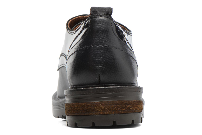 Zapatos con cordones Gioseppo Tura Negro vista lateral derecha