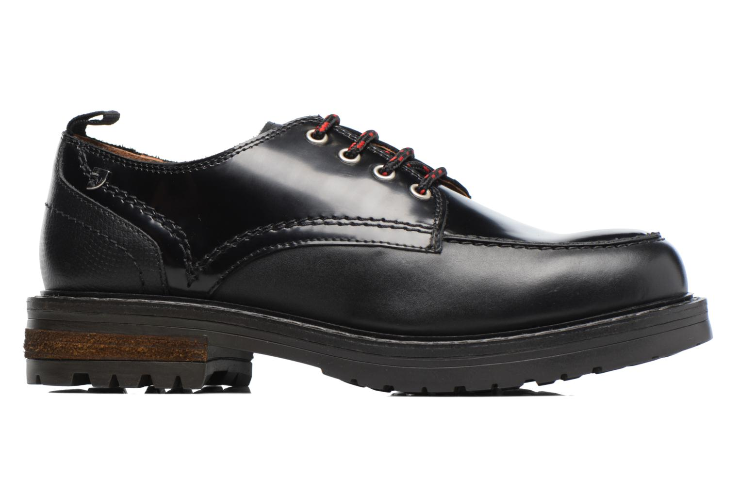Lace-up shoes Gioseppo Tura Black back view