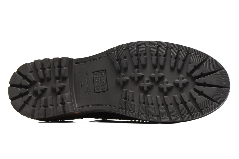 Zapatos con cordones Gioseppo Tura Negro vista de arriba