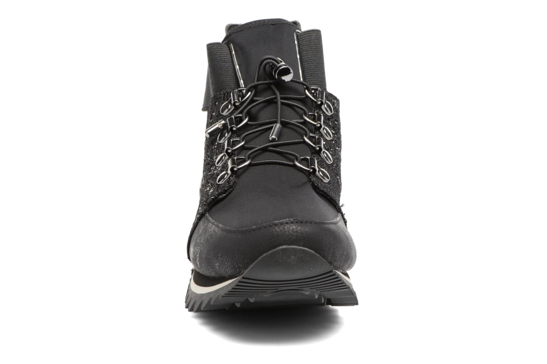 Baskets Gioseppo Hike Noir vue portées chaussures