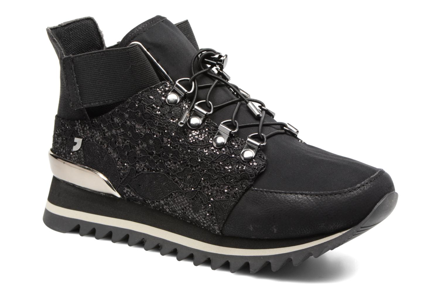 Trainers Gioseppo Hike Black detailed view/ Pair view