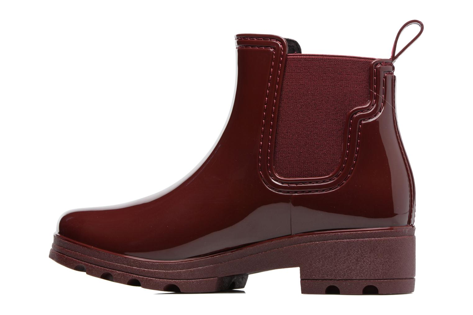 Bottines et boots Gioseppo Emie Bordeaux vue face