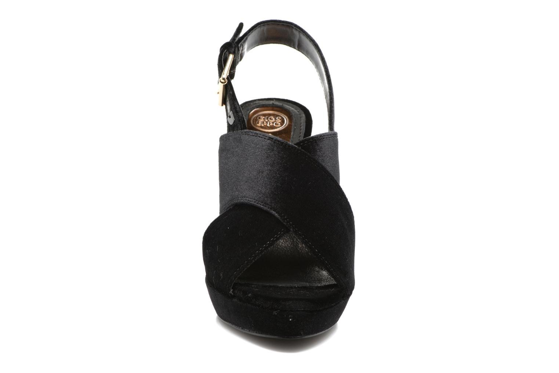 Sandales et nu-pieds Gioseppo Sivie Noir vue portées chaussures