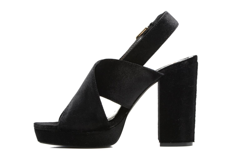 Sandales et nu-pieds Gioseppo Sivie Noir vue face