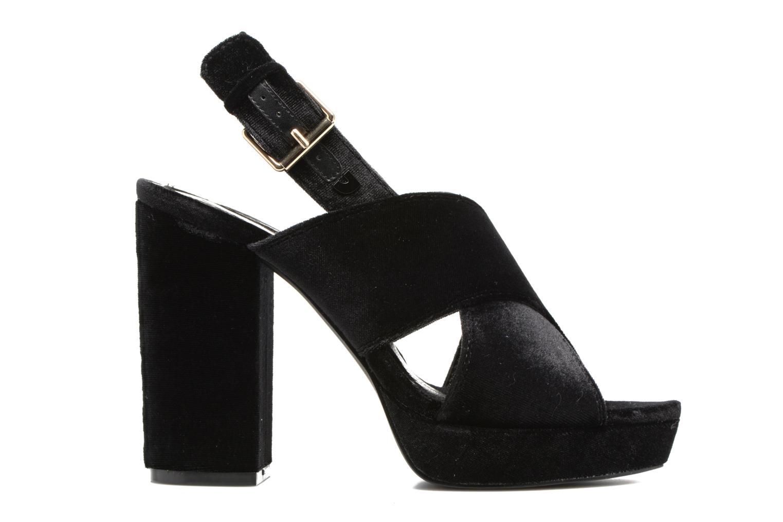 Sandales et nu-pieds Gioseppo Sivie Noir vue derrière