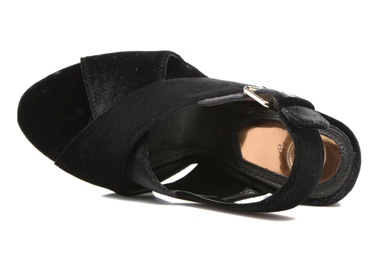 Sandales et nu-pieds Gioseppo Sivie Noir vue gauche