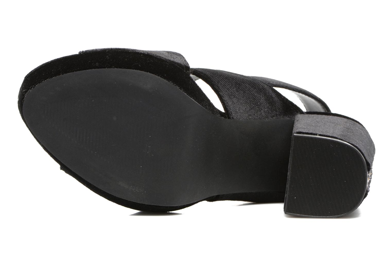 Sandales et nu-pieds Gioseppo Sivie Noir vue haut