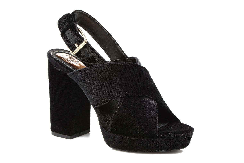 Sandaler Gioseppo Sivie Sort detaljeret billede af skoene