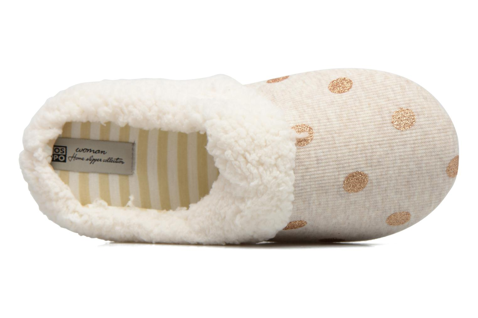 Slippers Gioseppo Bled Beige view from the left