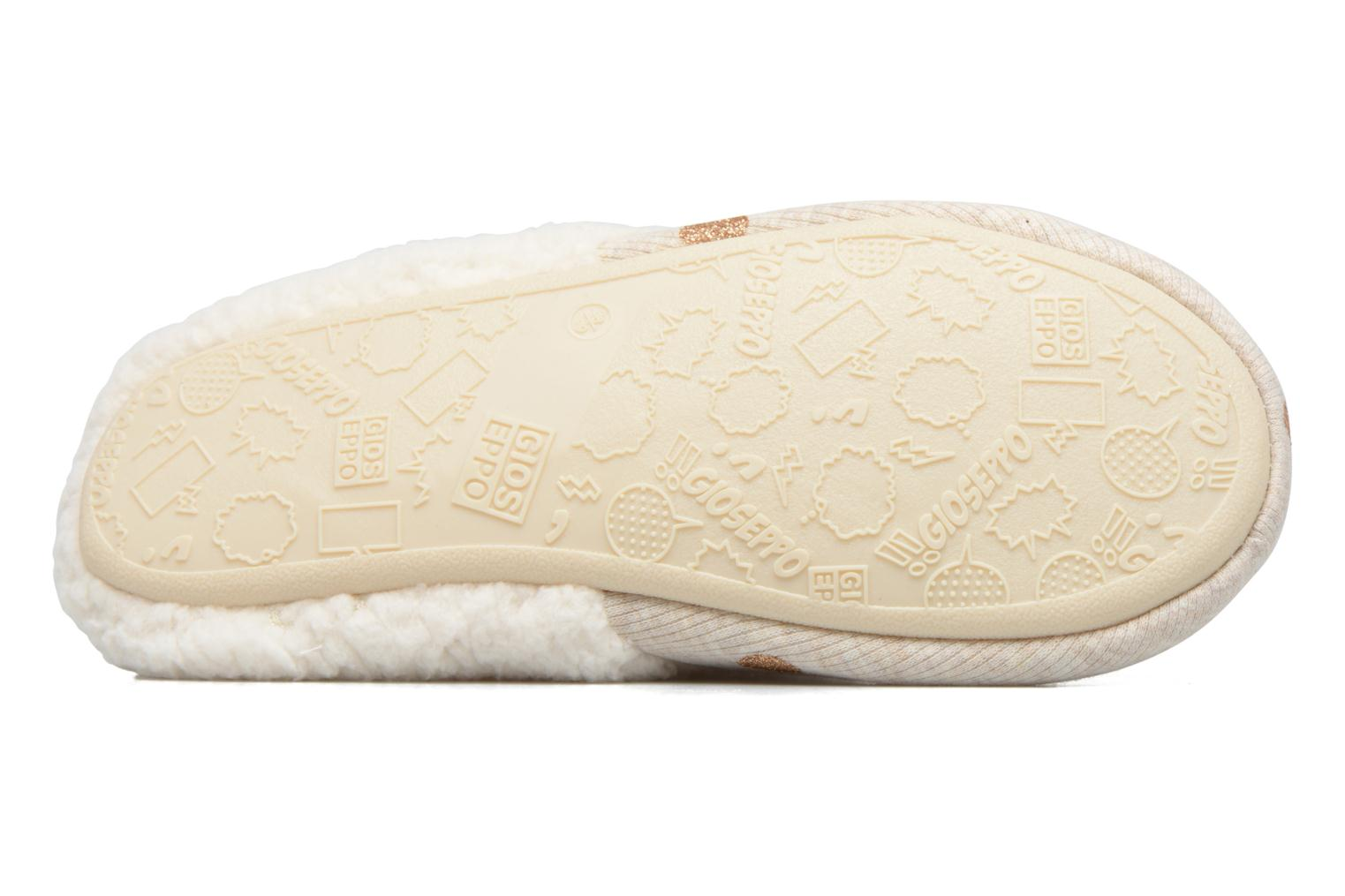 Slippers Gioseppo Bled Beige view from above