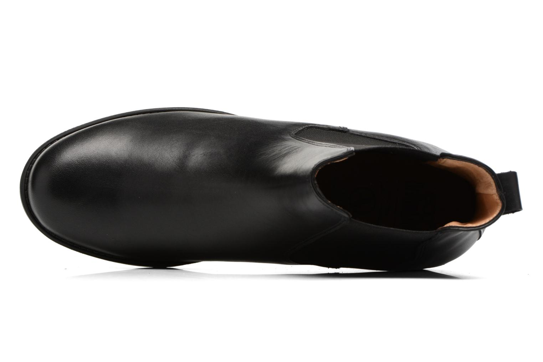 Botines  Aigle Orzac 2 Negro vista lateral izquierda