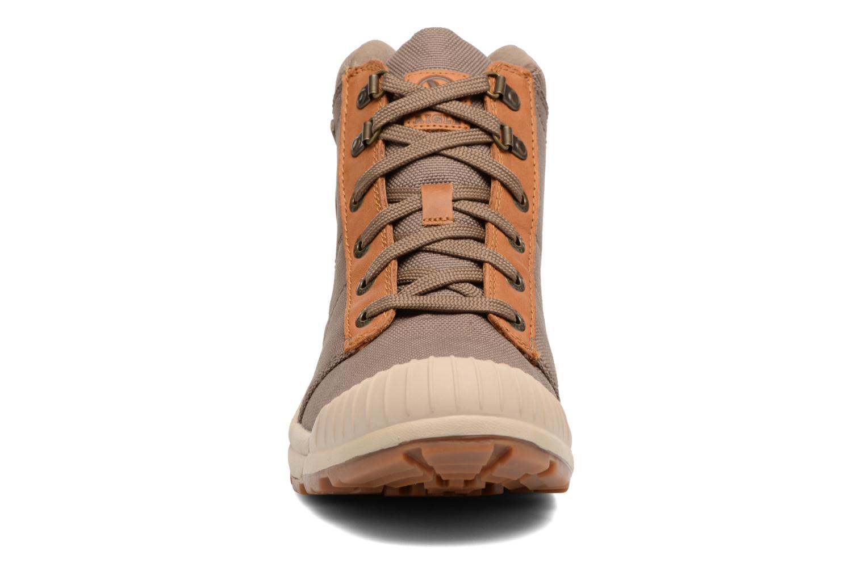 Chaussures de sport Aigle Tenere Light Cvs Gortex Vert vue portées chaussures