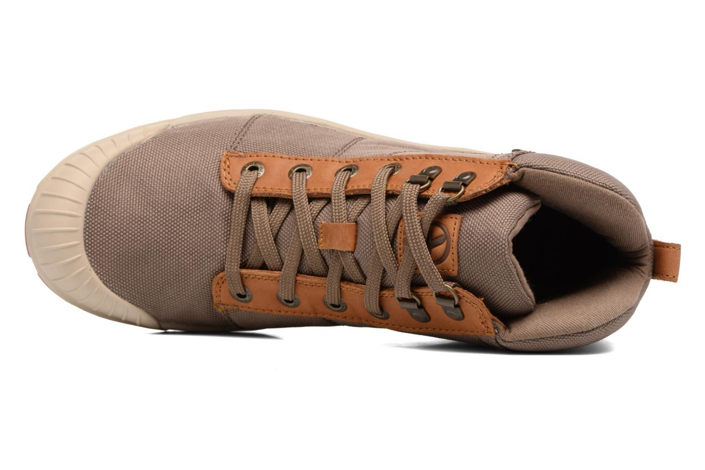 Chaussures de sport Aigle Tenere Light Cvs Gortex Vert vue gauche