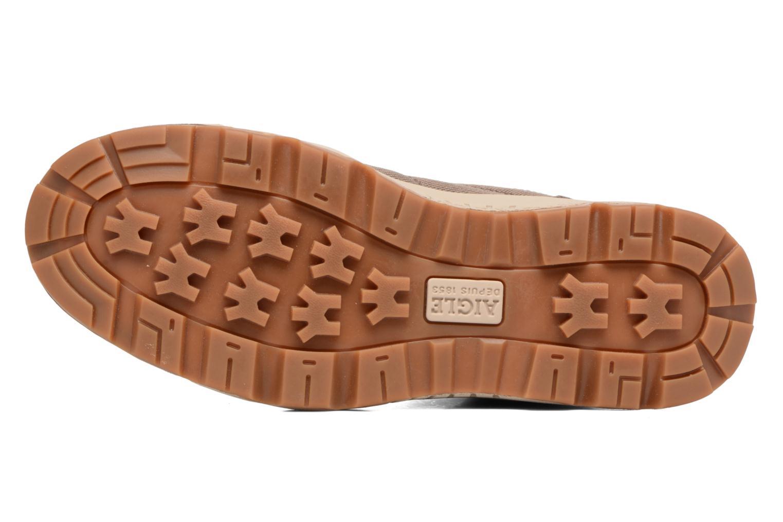 Chaussures de sport Aigle Tenere Light Cvs Gortex Vert vue haut