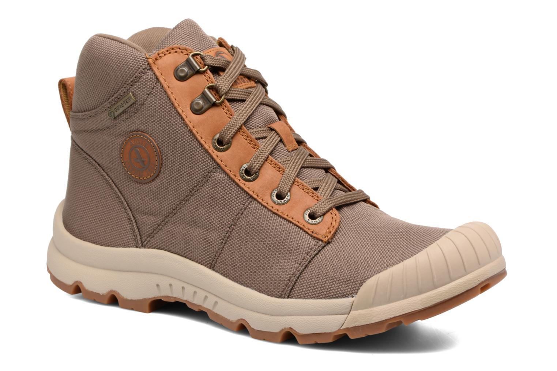 Chaussures de sport Aigle Tenere Light Cvs Gortex Vert vue détail/paire