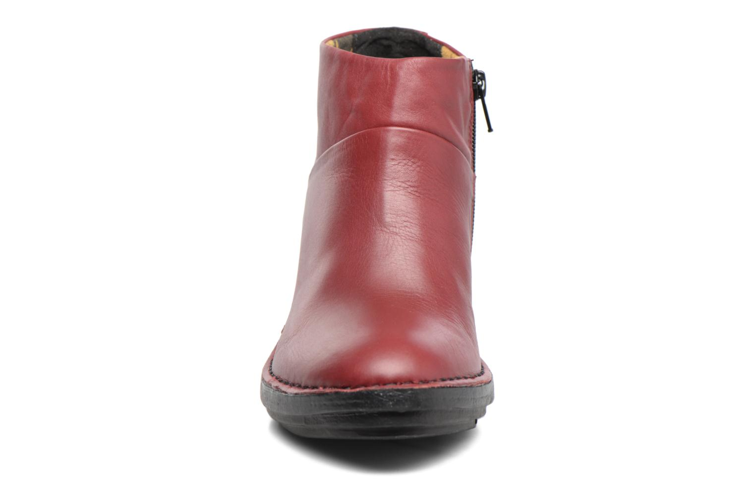 Ankle boots Fly London SIPI Burgundy model view