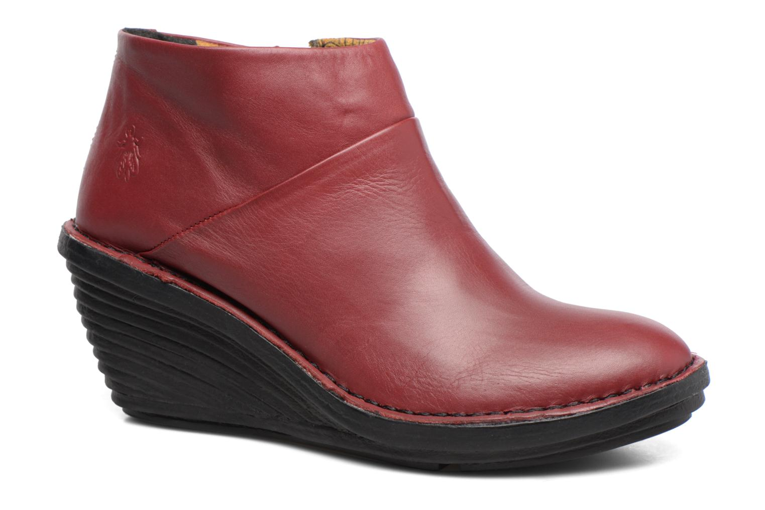 Bottines et boots Fly London SIPI Bordeaux vue détail/paire