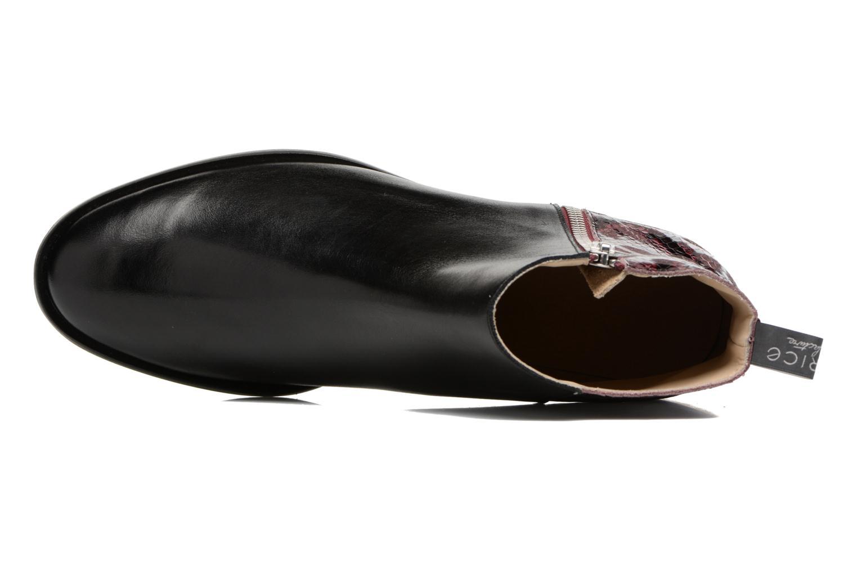 Bottines et boots MAURICE manufacture Carlita Noir vue gauche