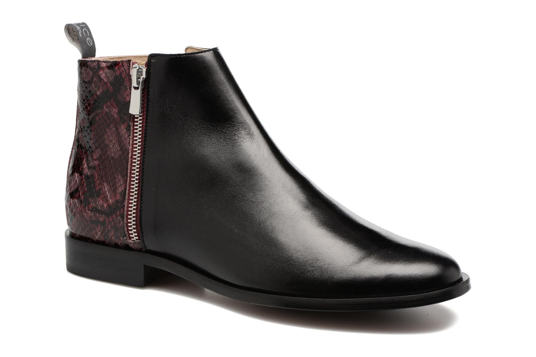 Bottines et boots MAURICE manufacture Carlita Noir vue détail/paire