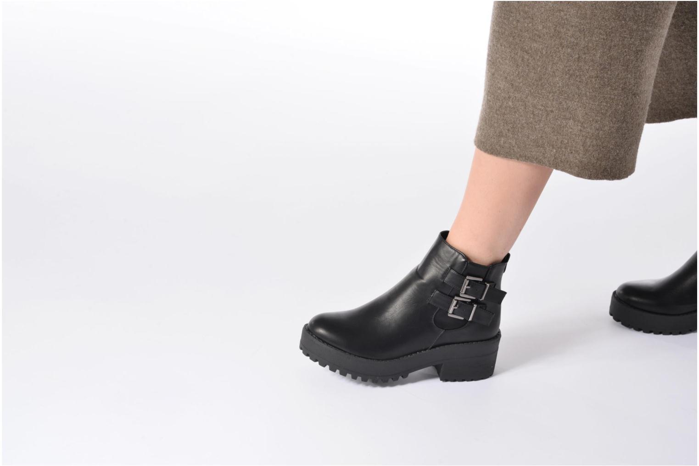 Bottines et boots Coolway Bashita Noir vue bas / vue portée sac