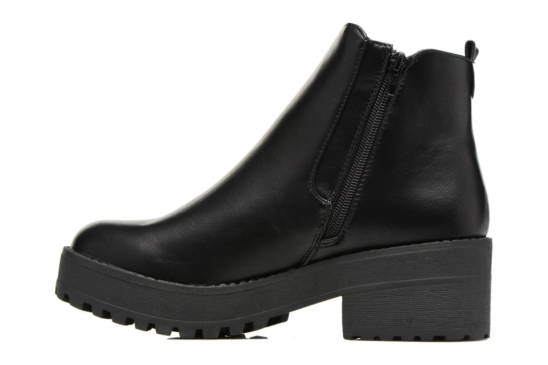 Bottines et boots Coolway Bashita Noir vue face