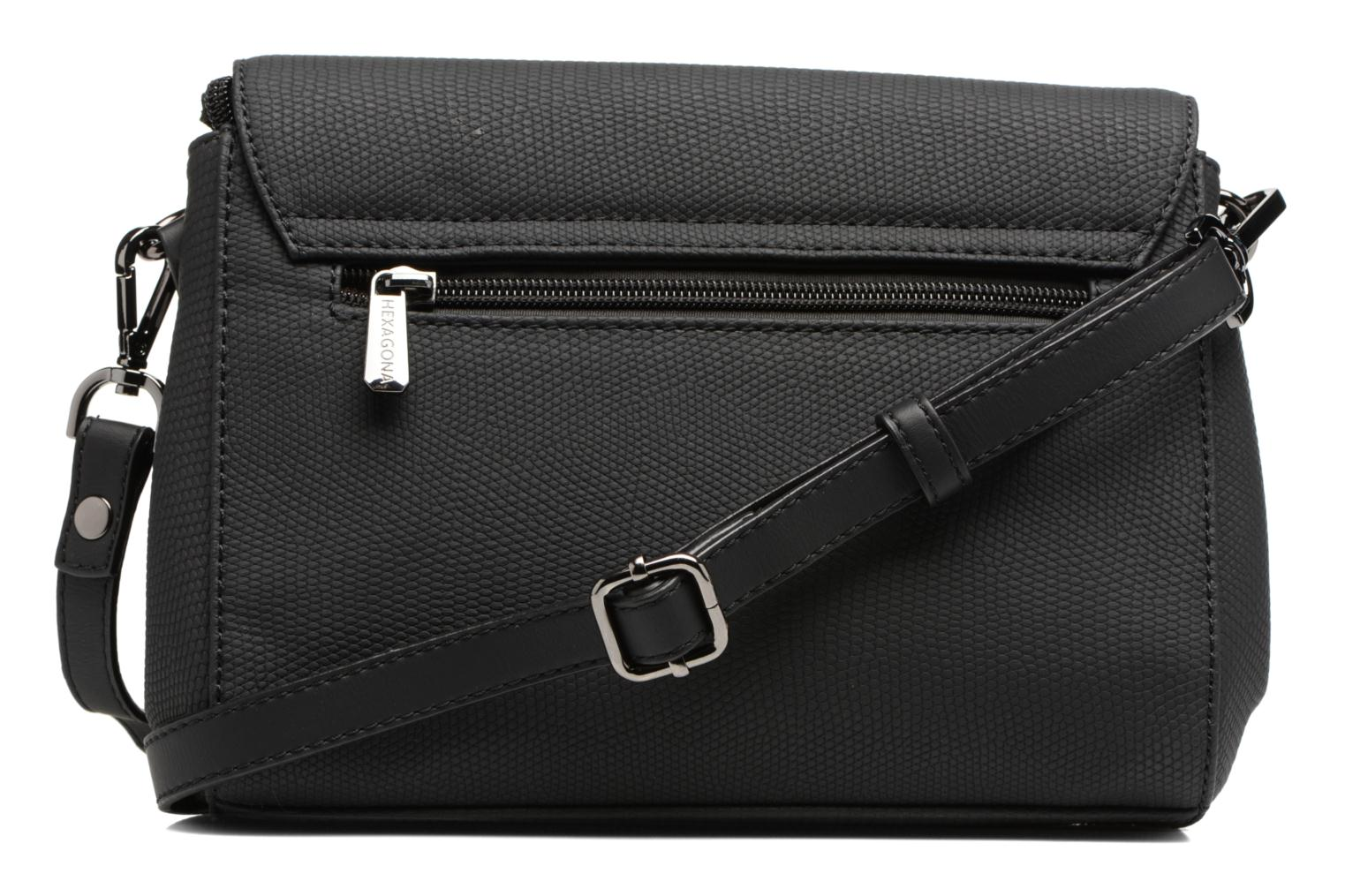 Sacs à main Hexagona Crossbody Cameleon Noir vue face