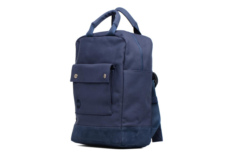Sacs à dos Mi-Pac Tote Backpack Bleu vue portées chaussures