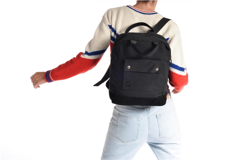 Sacs à dos Mi-Pac Tote Backpack Bleu vue haut