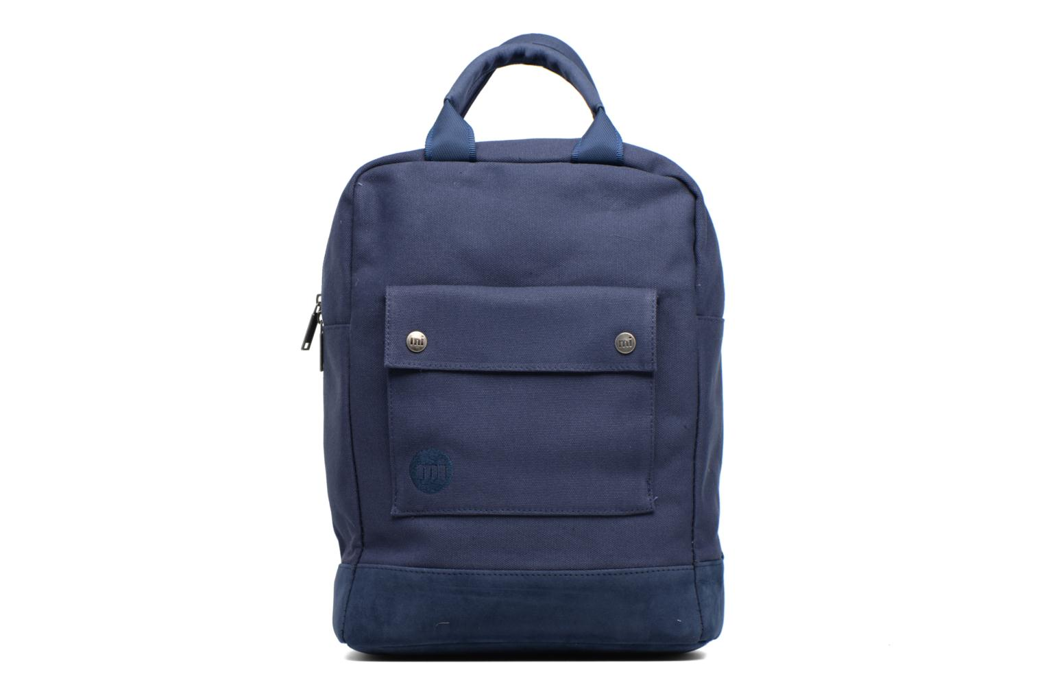 Tote Backpack Navy Canvas