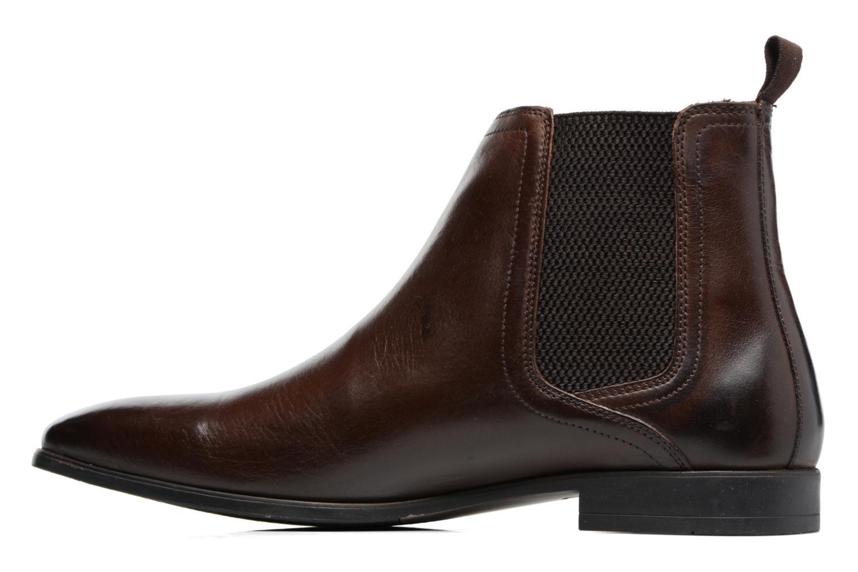 Bottines et boots Base London Guinea Marron vue face