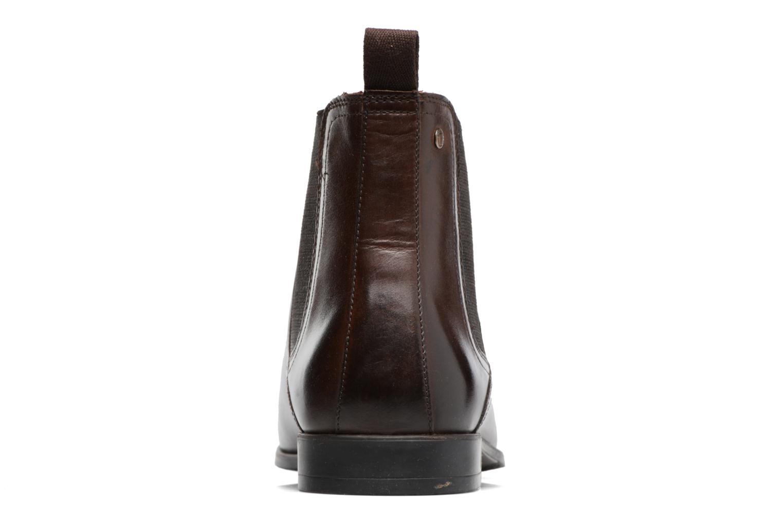 Bottines et boots Base London Guinea Marron vue droite