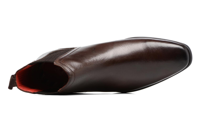 Bottines et boots Base London Guinea Marron vue gauche